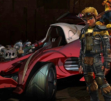 Jak X Combat Racing Sticker