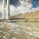 Bridge in Tibet by Hugh Chaffey-Millar