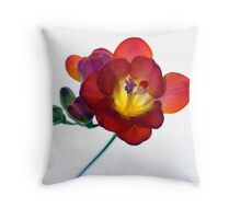 Free-zia Throw Pillow