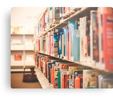 Library Time Metal Print