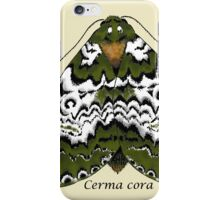 Bird dropping moth iPhone Case/Skin