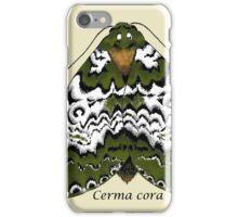 Bird dropping moth iPhone Case/Skin