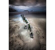 Wreck of Helvetia Photographic Print