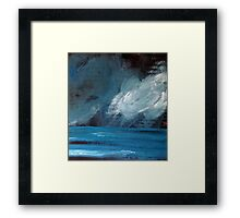 Rainy night Framed Print