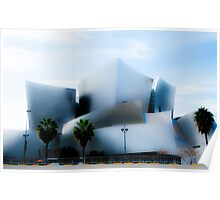 Disney Concert Hall -- Impression #1 Poster