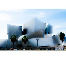 Disney Concert Hall -- Impression #1 Photographic Print
