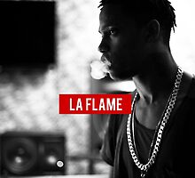La Flame by Michael Wright