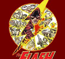 The Flash - Logo Barry Allen The Flash  by TylerMellark