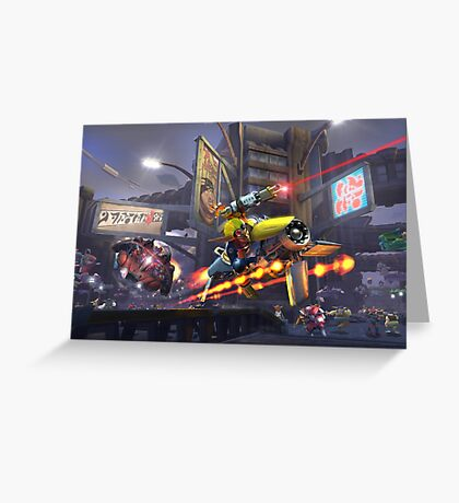 Jak 2 - Chase Greeting Card