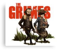 The Grimes Canvas Print