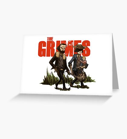 The Grimes Greeting Card