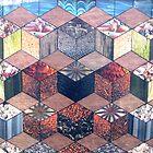 30 - HEXAGON DESIGN - 01 - DAVE EDWARDS - COLLAGE by BLYTHART