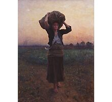 Shepherd's Star by Jules Breton Photographic Print