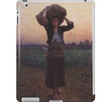 Shepherd's Star by Jules Breton iPad Case/Skin