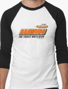 BRAWNDO Men's Baseball ¾ T-Shirt