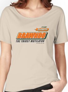 BRAWNDO Women's Relaxed Fit T-Shirt