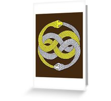 The Neverending Story - Auryn Greeting Card