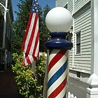 Red, White and B'pole by John Schneider