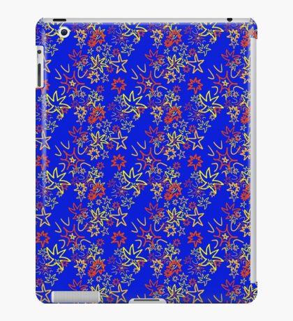 exploding stars iPad Case/Skin