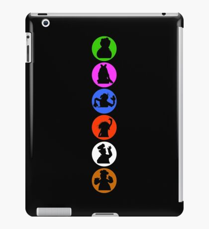 Crazy Silhouettes iPad Case/Skin