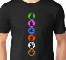 Crazy Silhouettes Unisex T-Shirt