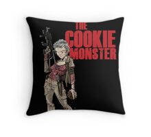 The Cookie Monster Throw Pillow