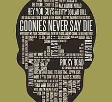 The Goonies - Movie's Quotes Design by TylerMellark