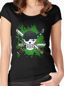 New World Zoro v2 Women's Fitted Scoop T-Shirt