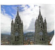 The Best View In Quito Ecuador Poster