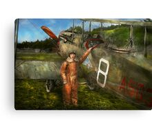 Plane - First One-Stop Flight Across the US - 1921 Canvas Print