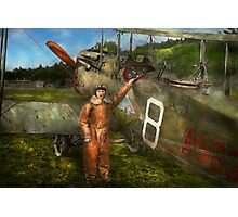 Plane - First One-Stop Flight Across the US - 1921 Photographic Print