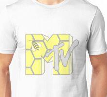 MTV Logo (Honeycomb) Unisex T-Shirt