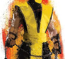 """""""Scorpion"""" Splatter Art by KYCollectibles"""