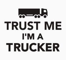 Trust me I'm a Trucker Kids Clothes