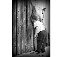 Little Peeping Tom Photographic Print
