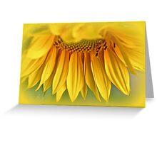 Sunshine On A Stalk Greeting Card