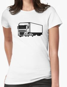 Truck Womens Fitted T-Shirt