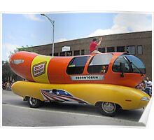 Hot Dog - a Parade! Poster