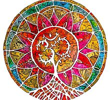 Tree of Life Mandala by mishyrowan