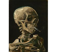 Skull With Cigarette by Vincent van Gogh Photographic Print