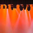 Lights crowd in orange by Luigi De Frenza