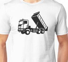 Dump truck tipper Unisex T-Shirt