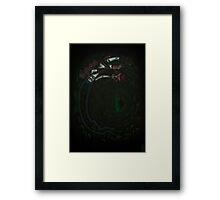 Marceline/Jinx crossover Framed Print