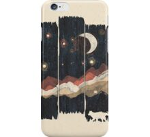 Starry Night in the Mountains... iPhone Case/Skin