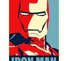 The Avengers - Vote for Iron Man by TylerMellark
