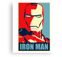 The Avengers - Vote for Iron Man Canvas Print