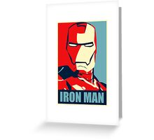 The Avengers - Vote for Iron Man Greeting Card