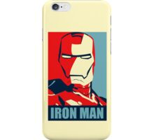 The Avengers - Vote for Iron Man iPhone Case/Skin