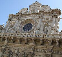 View of Basilica di Santa Croce by Fabio Procaccini