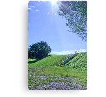 Up the Hill Metal Print